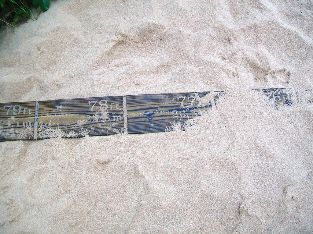 The Moving Dune Measuring Board