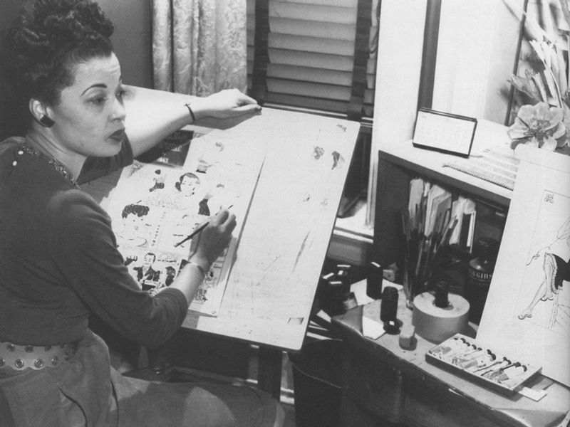Jackie Ormes image. Click for full size.