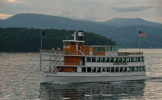 "Lake George - ""<i>Queen of American Lakes</i>"" image. Click for full size."