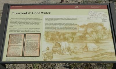 Firewood & Cool Water Marker image. Click for full size.