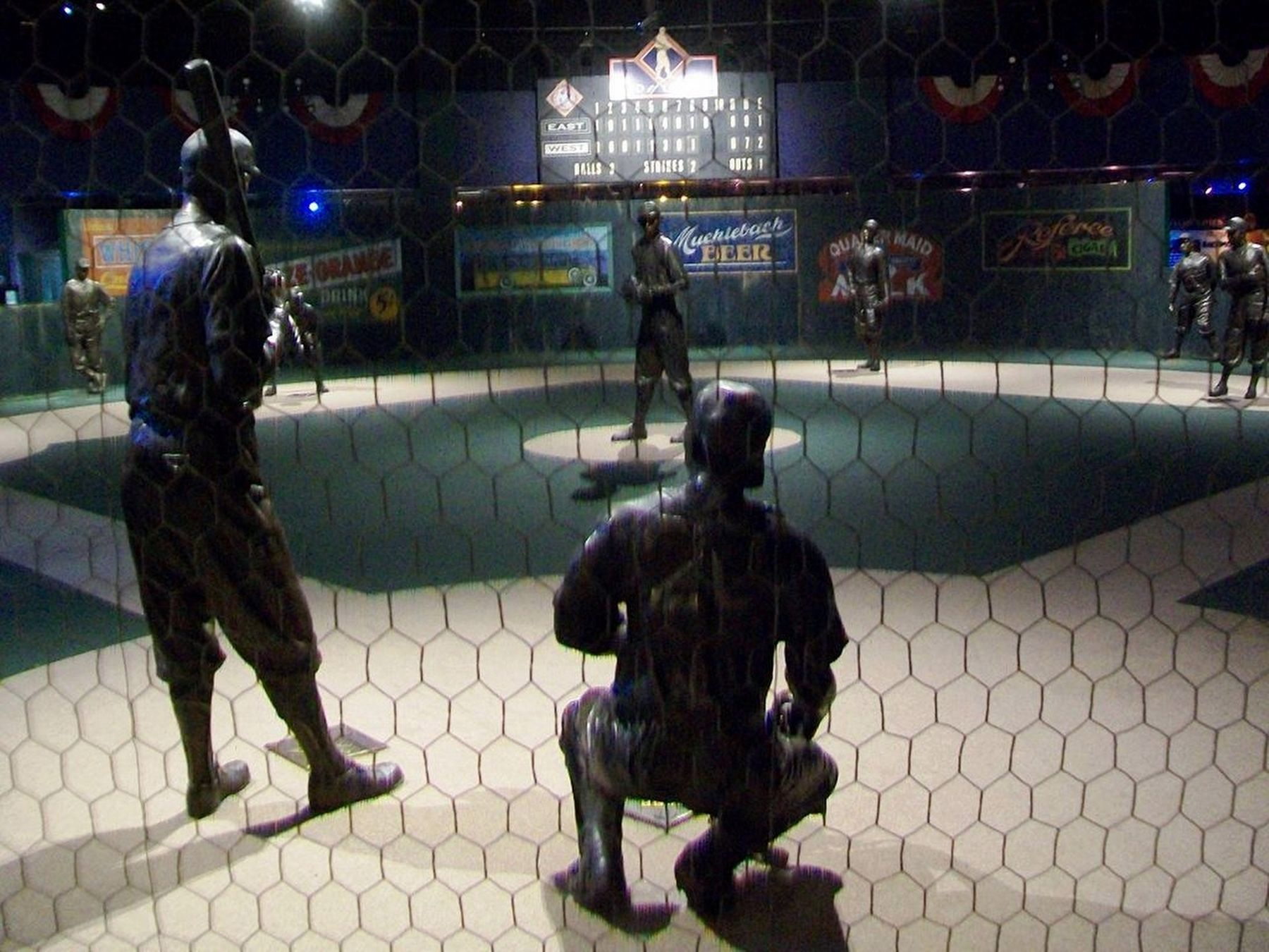 Field of Legends at the Negro Leagues Baseball Museum image. Click for full size.