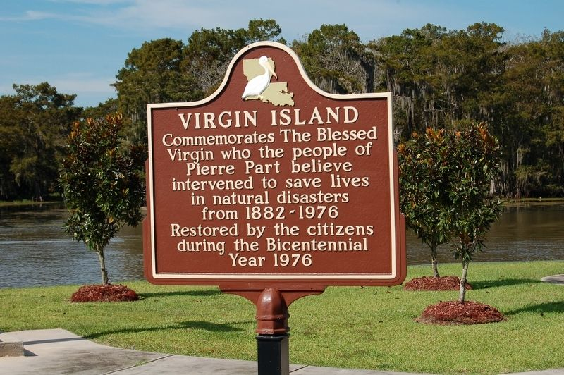 Virgin Island Marker image. Click for full size.