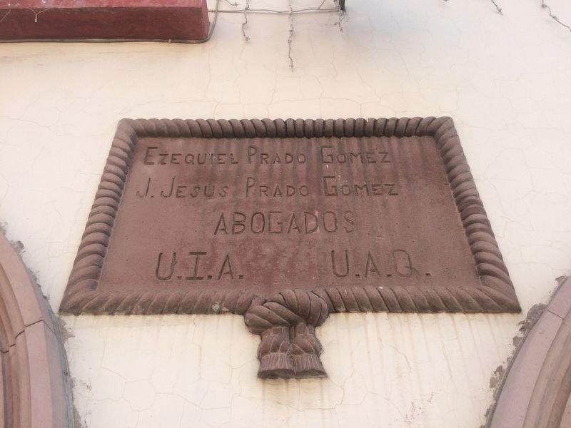 Additional marker above the Manuel Montes Collantes marker image. Click for full size.