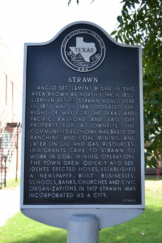 Strawn Marker image. Click for full size.