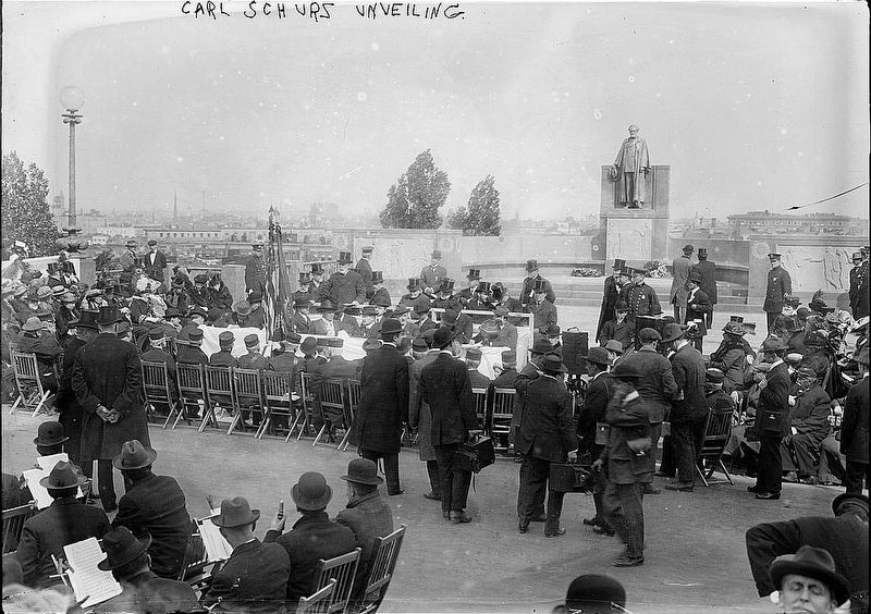 Carl Schurz Monument Unveiling image. Click for full size.