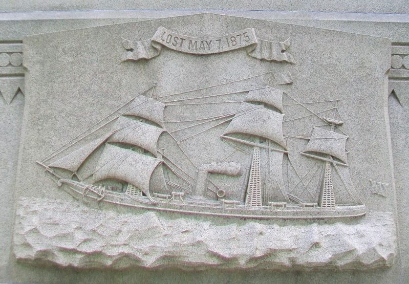 Joseph Schlitz Monument Detail image. Click for full size.