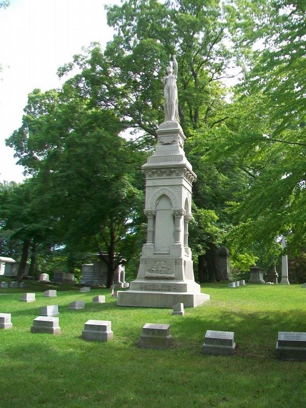 Joseph Schlitz Family Plot image. Click for full size.