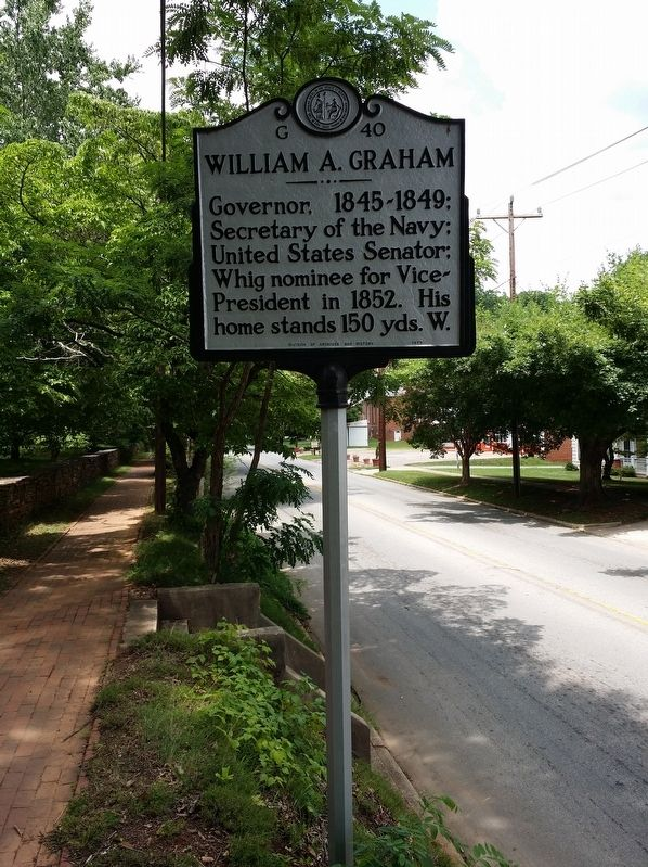 William A. Graham Marker image. Click for full size.