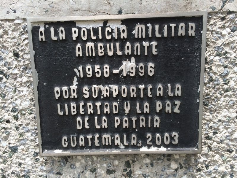 Mobile Military Police Marker image. Click for full size.