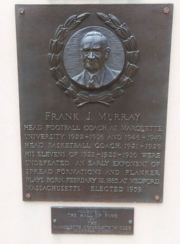 Frank J. Murray Marker image. Click for full size.