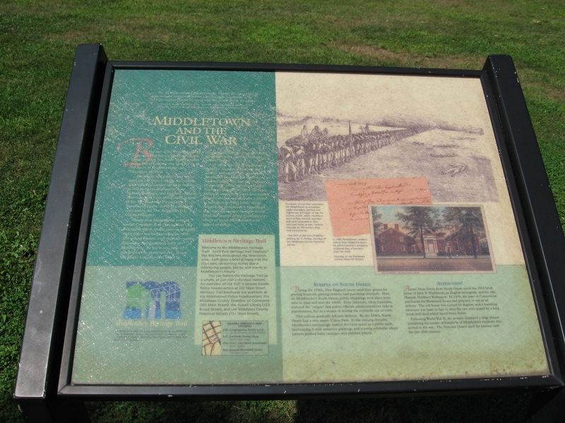 Middletown and the Civil War Marker image. Click for full size.