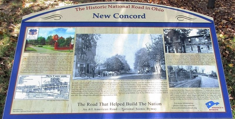 New Concord Marker image. Click for full size.