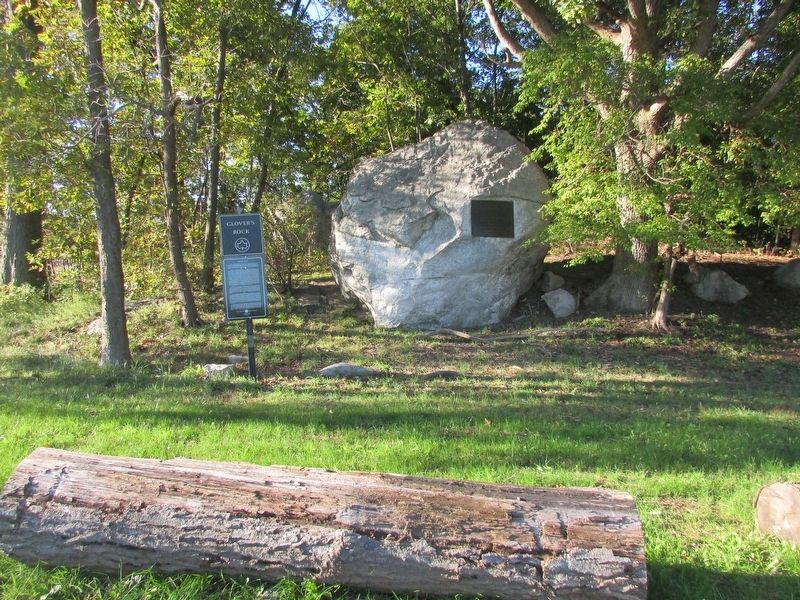 Glover's Rock Marker image. Click for full size.