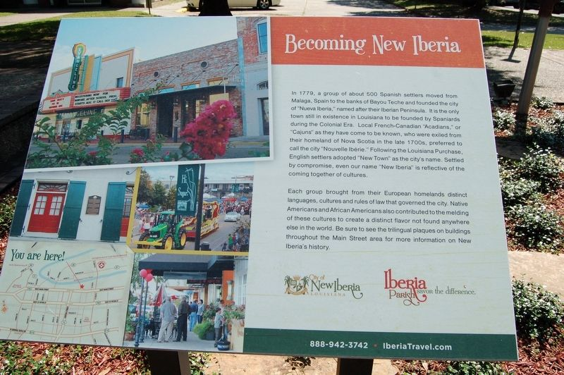 Becoming New Iberia Marker image. Click for full size.