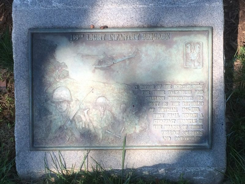 199th Light Infantry Brigade Marker image. Click for full size.