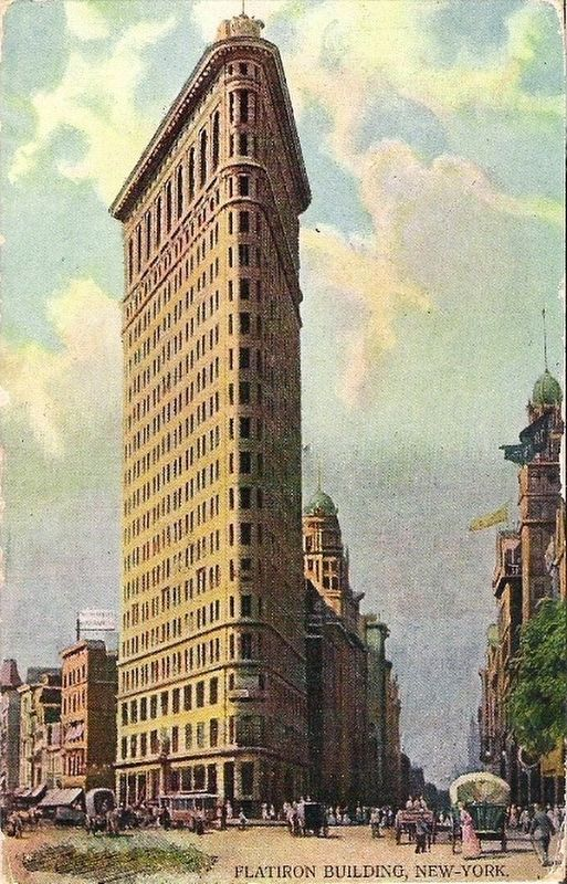 <i>Flatiron Building, New York</i> image. Click for full size.