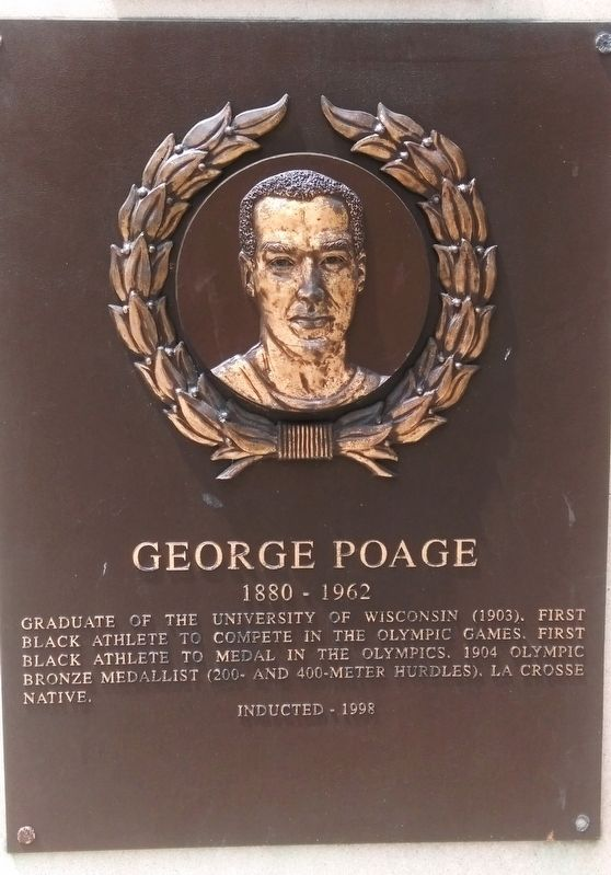 George Poage Marker image. Click for full size.
