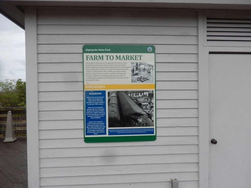 Farm to Market Marker image. Click for full size.