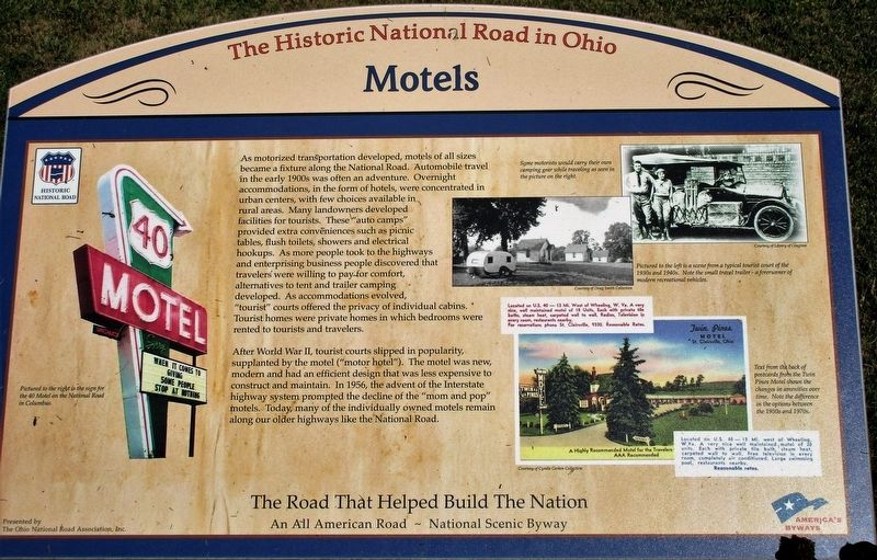 Motels Marker image. Click for full size.