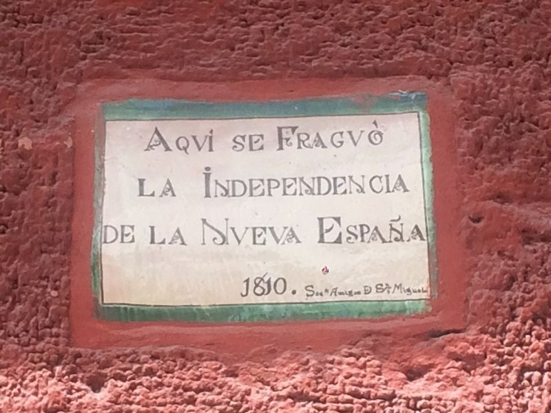 Here Independence was Planned Marker image. Click for full size.