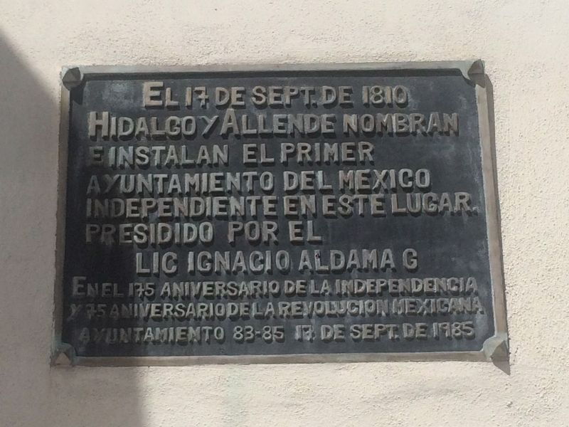 First Independent Municipality of Mexico Marker image. Click for full size.