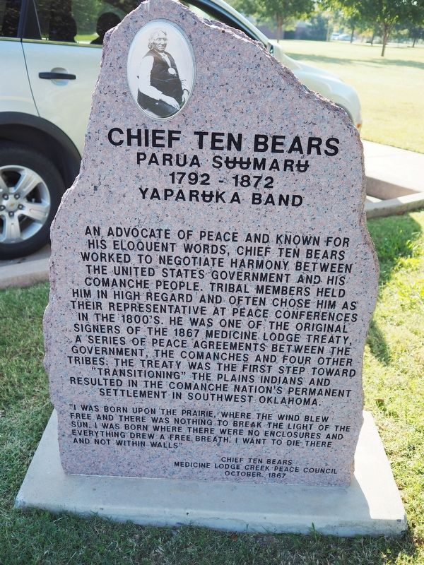 Chief Ten Bears Marker image. Click for full size.