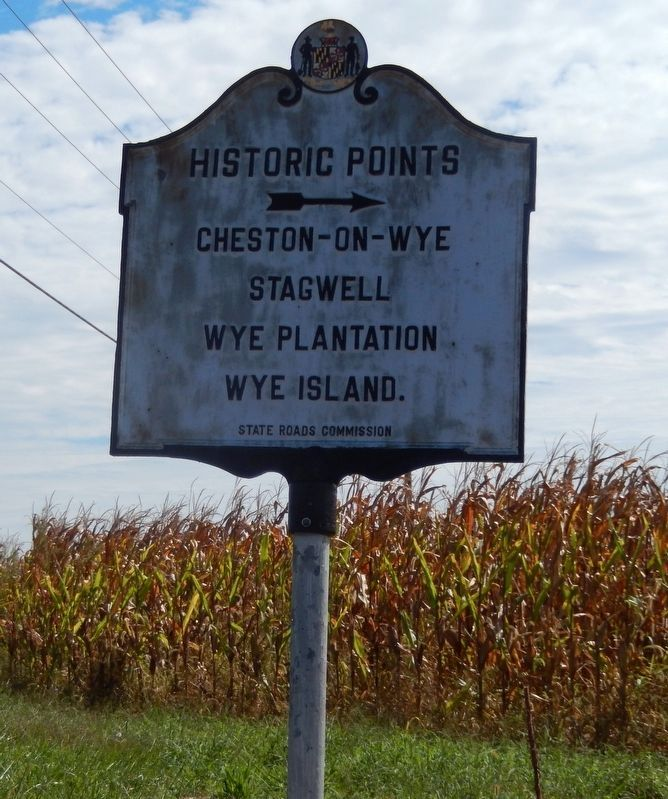 This marker is near the Site of Stagwell Marker image. Click for full size.