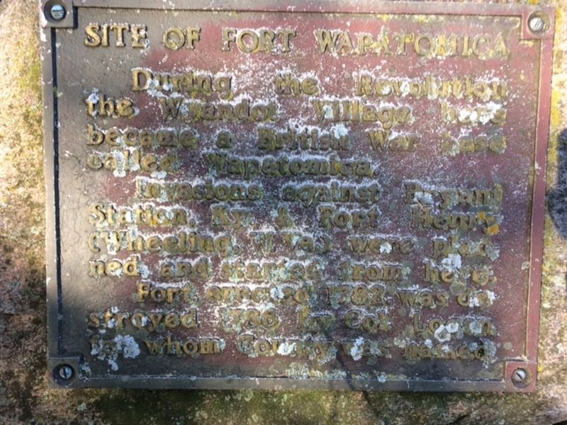 Site of Fort Wapatomica Marker image. Click for full size.