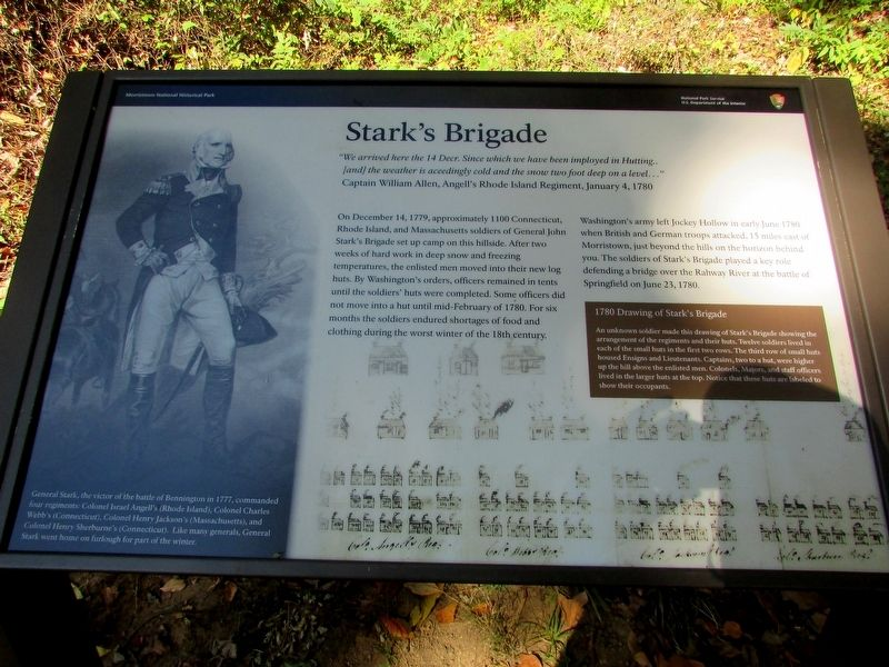 Stark's Brigade Marker image. Click for full size.