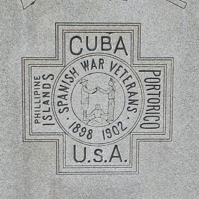Manchester Spanish American War Monument image. Click for full size.