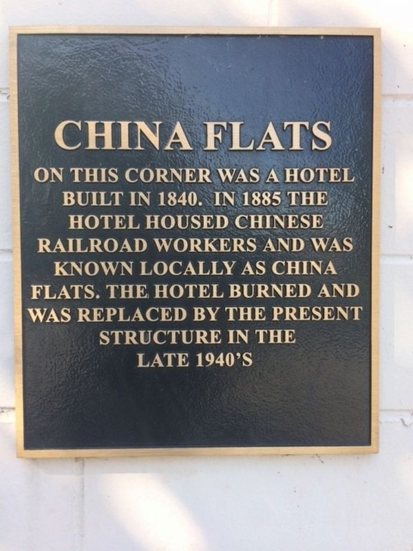 China Flats Marker image. Click for full size.