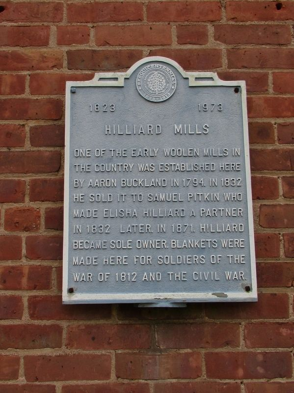 Hilliard Mills Marker image. Click for full size.