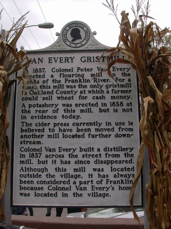 Van Every Gristmill Marker image. Click for full size.