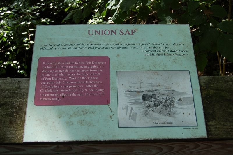 Union Sap Marker image. Click for full size.