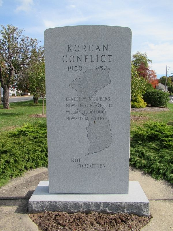 Manchester Korean Conflict Memorial image. Click for full size.