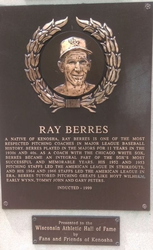 Ray Berres Marker image. Click for full size.