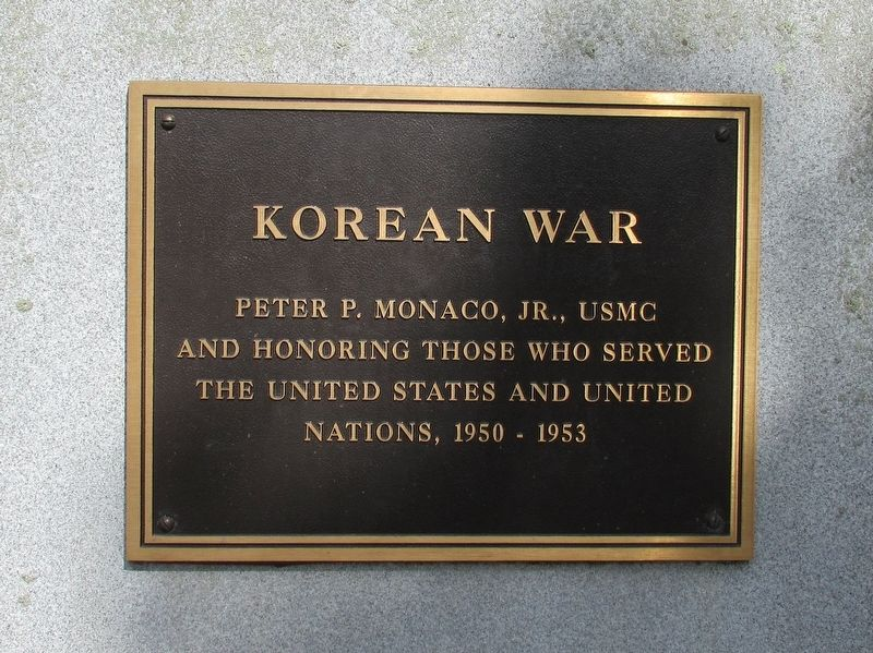 Glastonbury Korean War Memorial image. Click for full size.