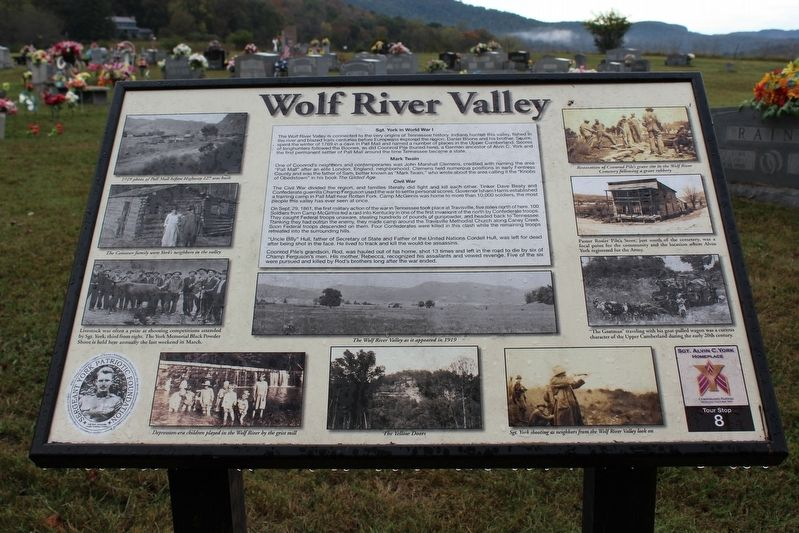 Wolf River Valley Marker image. Click for full size.
