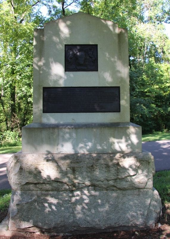 9th Pennsylvania Cavalry Marker image. Click for full size.