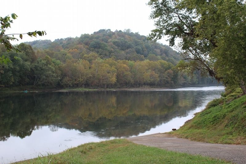 Cumberland River at Neeley's Ferry Site image. Click for full size.