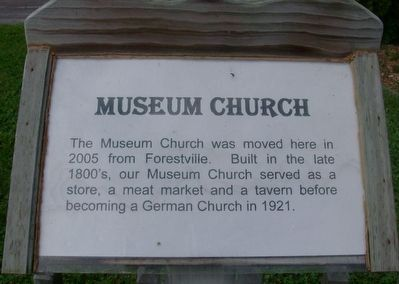 Museum Church Marker image. Click for full size.