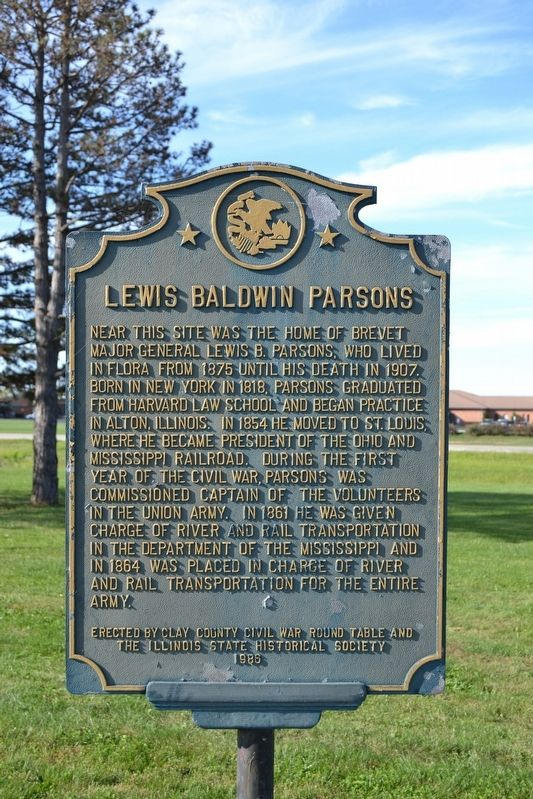 Lewis Baldwin Parsons Marker image. Click for full size.