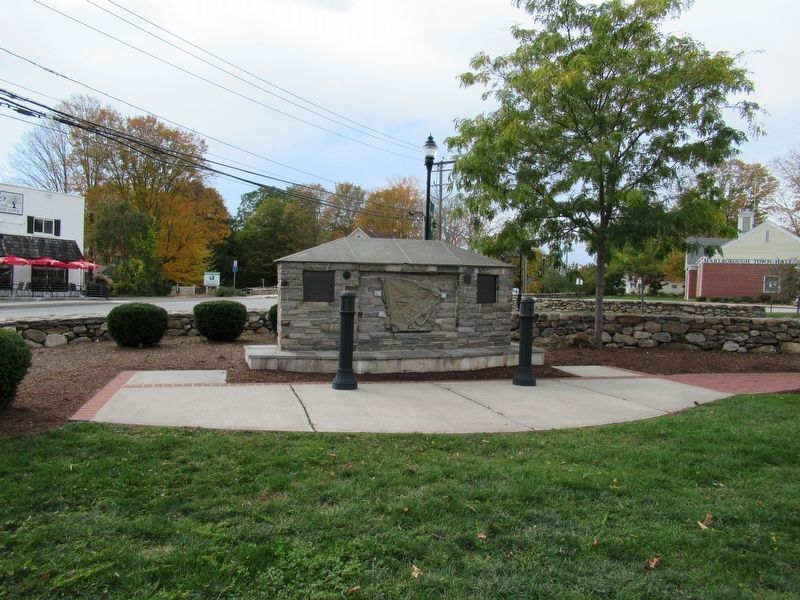 Marlborough Veterans Memorial image. Click for full size.