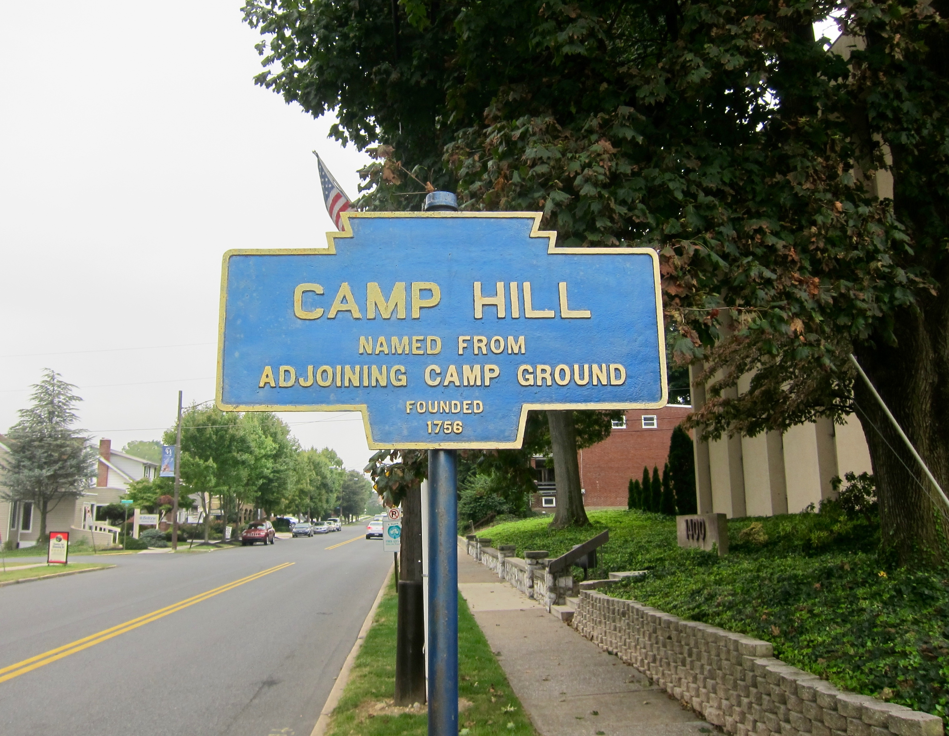 Camp Hill Marker