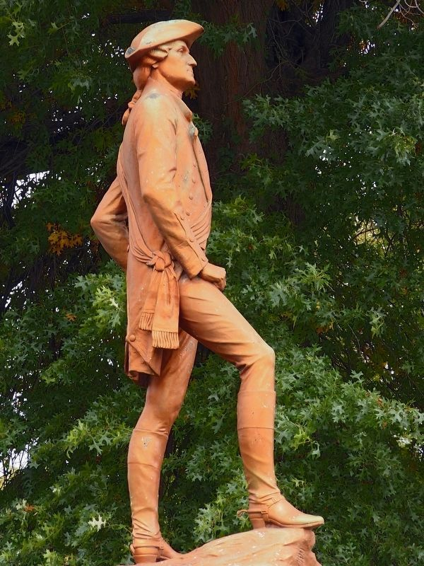 Colonel George Washington Sculpture<br>by Frank Vittor image. Click for full size.