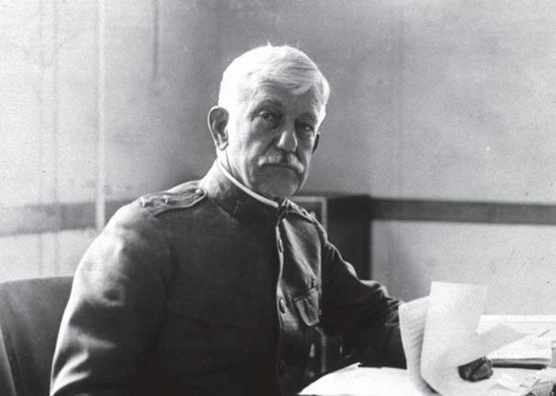 Maj. Gen. William C. Gorgas, Surgeon General of the US Army during World War I image. Click for full size.