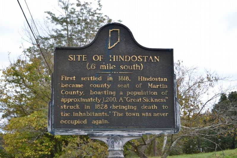 Site of Hindostan Marker image. Click for full size.