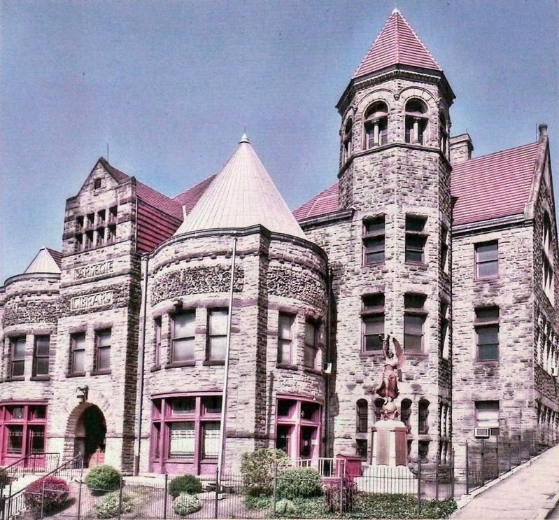 Braddock Carnegie Library image. Click for full size.