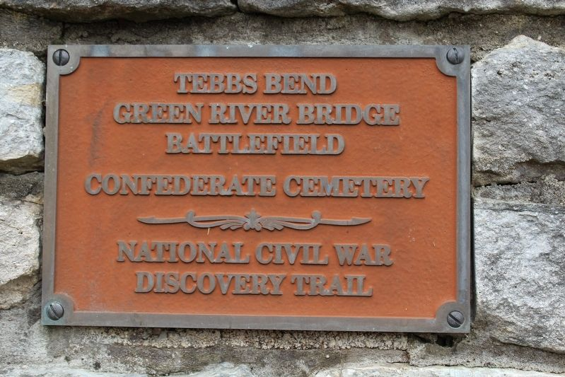 Tebbs Bend Green River Battlefield Confederate Cemetery image. Click for full size.