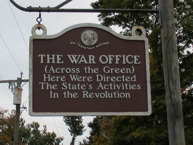 The War Office Marker image. Click for full size.